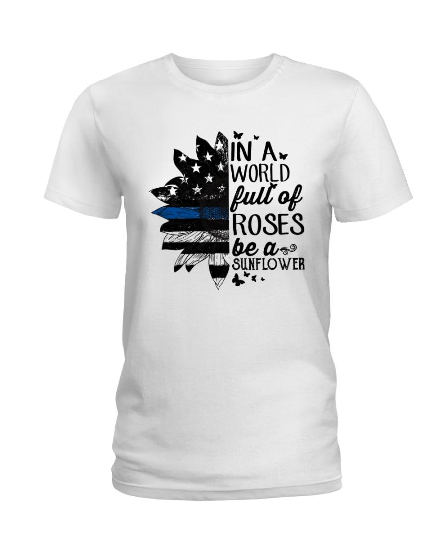 rose blue Ladies T-Shirt
