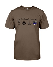 SIMPLE WOMAN WINE Classic T-Shirt thumbnail