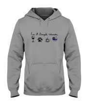 SIMPLE WOMAN WINE Hooded Sweatshirt thumbnail