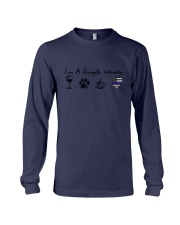 SIMPLE WOMAN WINE Long Sleeve Tee thumbnail