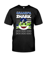 Grandpa Shark  Classic T-Shirt front