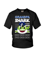 Grandpa Shark  Youth T-Shirt thumbnail