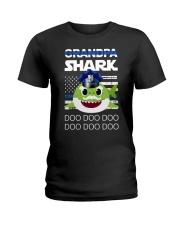 Grandpa Shark  Ladies T-Shirt thumbnail