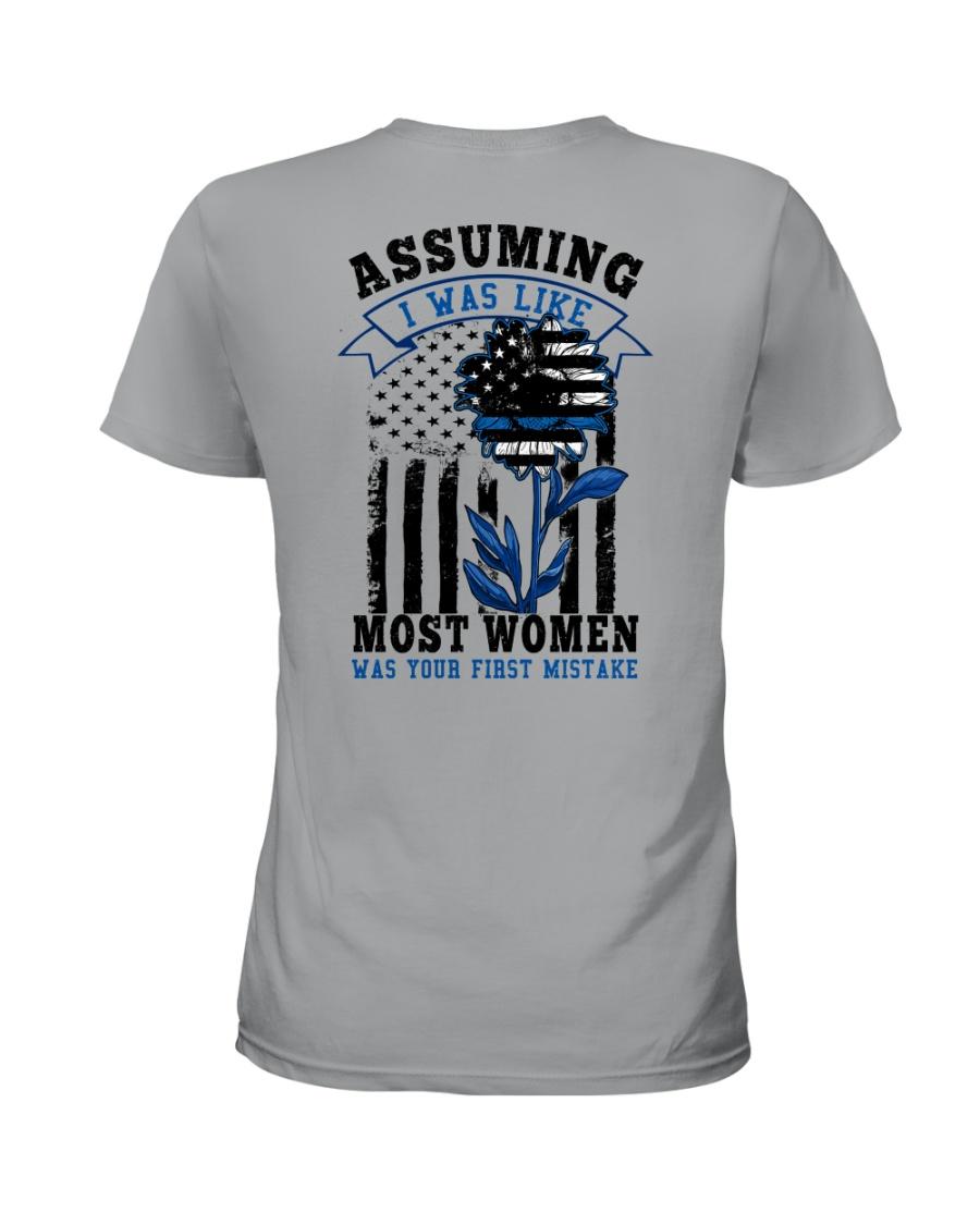 most women Ladies T-Shirt