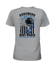 most women Ladies T-Shirt back