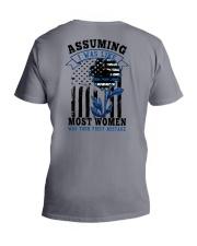 most women V-Neck T-Shirt thumbnail