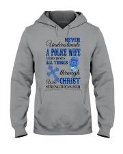 Police Wife Hooded Sweatshirt thumbnail