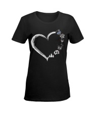 LOVE Ladies T-Shirt women-premium-crewneck-shirt-front