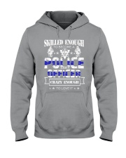 Skilled and Crazy Hooded Sweatshirt thumbnail
