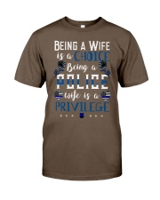 being a wife is a choice Classic T-Shirt thumbnail