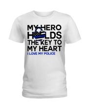 My Hero Ladies T-Shirt front