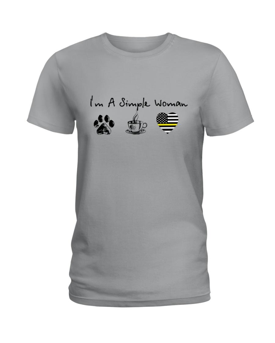 simple woman Ladies T-Shirt
