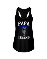 Papa Ladies Flowy Tank thumbnail