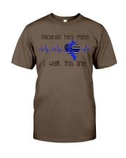 He's Mine blue Classic T-Shirt thumbnail