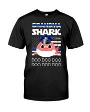 Grandma Shark  Classic T-Shirt thumbnail