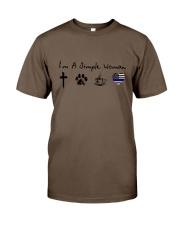 SIMPLE WOMAN GOD Classic T-Shirt thumbnail