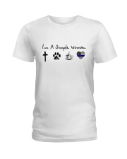 SIMPLE WOMAN GOD Ladies T-Shirt front