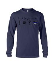 Cross Paw Wine Police Long Sleeve Tee thumbnail