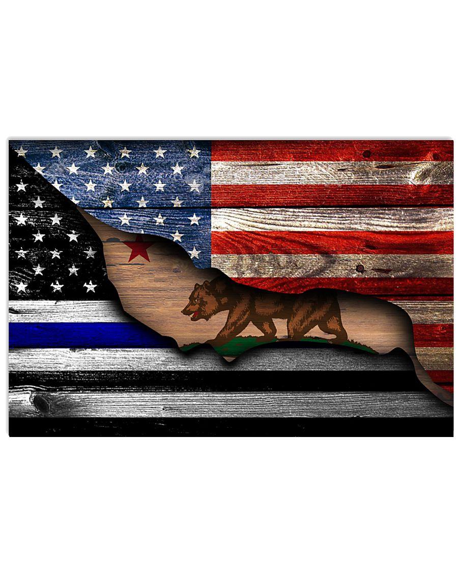 california-police-american 36x24 Poster