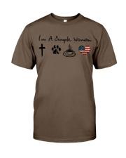 Order Cross Paw Coffee Flag Classic T-Shirt thumbnail