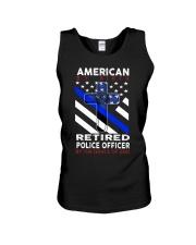 Retired Police Officer Unisex Tank thumbnail