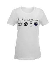 Order Star of David Ladies T-Shirt women-premium-crewneck-shirt-front