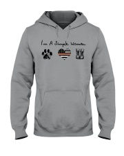 Order Simple Woman with Hiking Boots Hooded Sweatshirt thumbnail
