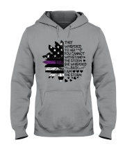 Storm Thin Purple Line Hooded Sweatshirt thumbnail