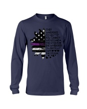 Storm Thin Purple Line Long Sleeve Tee thumbnail
