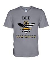 bee dispatcher V-Neck T-Shirt thumbnail
