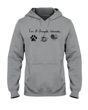 Simple Woman Camo Hooded Sweatshirt thumbnail
