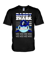 Daddy Shark 2 V-Neck T-Shirt thumbnail