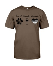 Order Simple Woman Silver Line Classic T-Shirt thumbnail