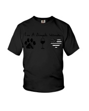 Order Simple Woman Silver Line Youth T-Shirt thumbnail