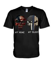 My Home My Blood V-Neck T-Shirt thumbnail