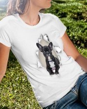 Frenchie Mom Ladies T-Shirt lifestyle-women-crewneck-front-8
