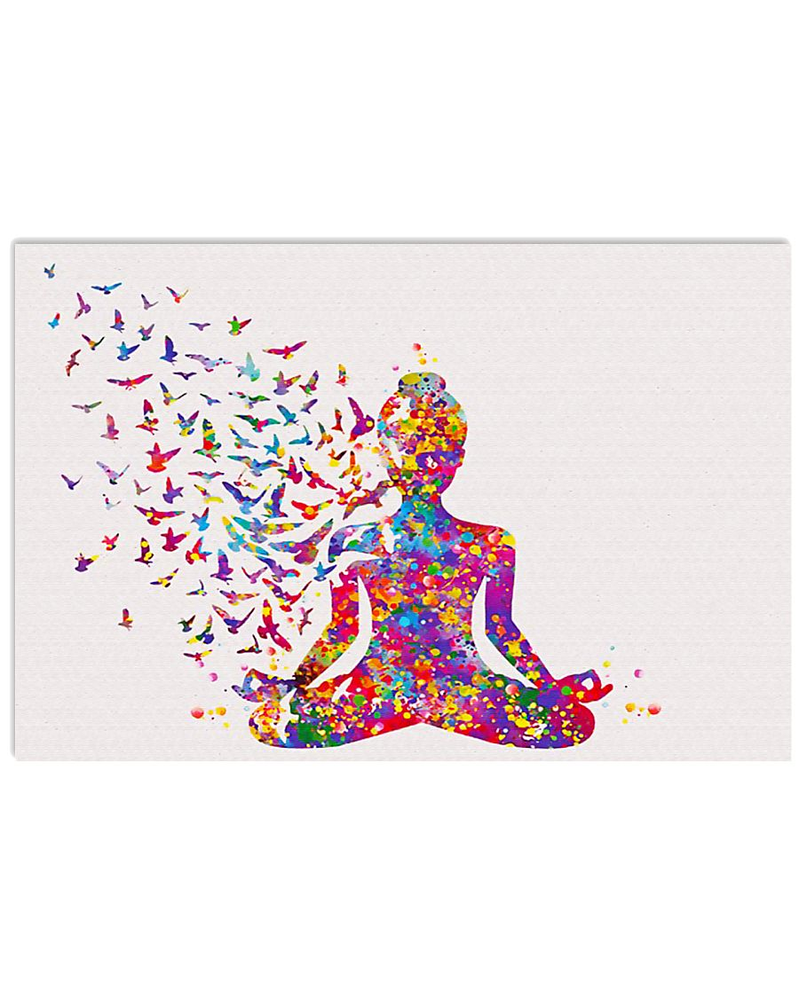 YOGA FOR LIFE 17x11 Poster