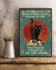 BLACK CAT - I AM THE STORM 11x17 Poster lifestyle-poster-3
