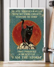 BLACK CAT - I AM THE STORM 11x17 Poster lifestyle-poster-4