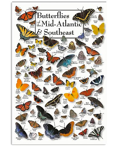 BUTTERFLIES OF MID-ATLANTIC  - SOUTHEAST