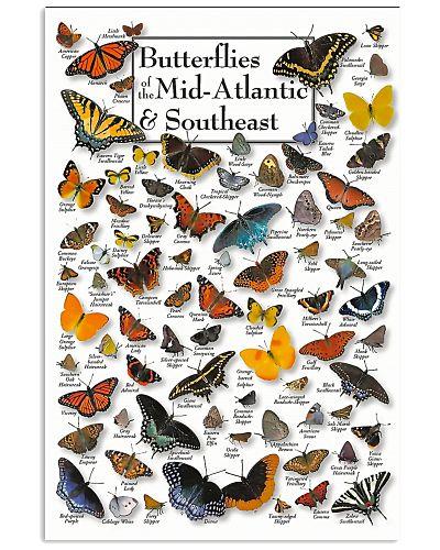 BUTTERFLIES OF MID-ATLANTIC  - SOUTHEAST