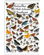 BUTTERFLIES OF MID-ATLANTIC  - SOUTHEAST 11x17 Poster front