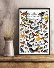 BUTTERFLIES OF MID-ATLANTIC  - SOUTHEAST 11x17 Poster lifestyle-poster-3