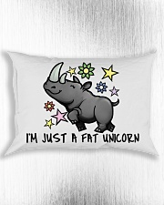 A FAT UNICORN PILLOWCASE Rectangular Pillowcase aos-pillow-rectangle-front-lifestyle-4