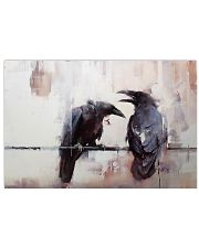 LIMITED EDITION - THE RAVEN WATERCOLOR PRINTED 36x24 Poster front