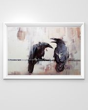 LIMITED EDITION - THE RAVEN WATERCOLOR PRINTED 36x24 Poster poster-landscape-36x24-lifestyle-02