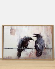 LIMITED EDITION - THE RAVEN WATERCOLOR PRINTED 36x24 Poster poster-landscape-36x24-lifestyle-03