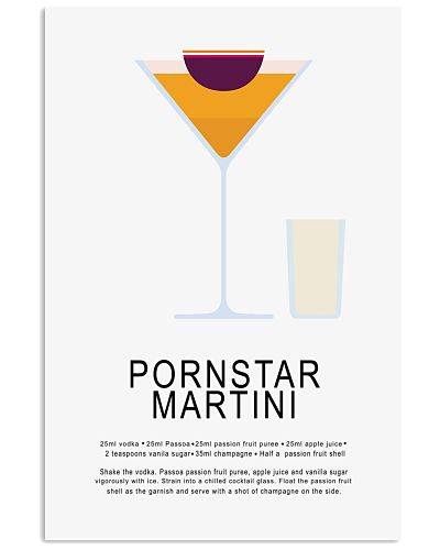 PORNSTAR MARTINI -COCKTAIL GUIDE - LIMITED EDITION