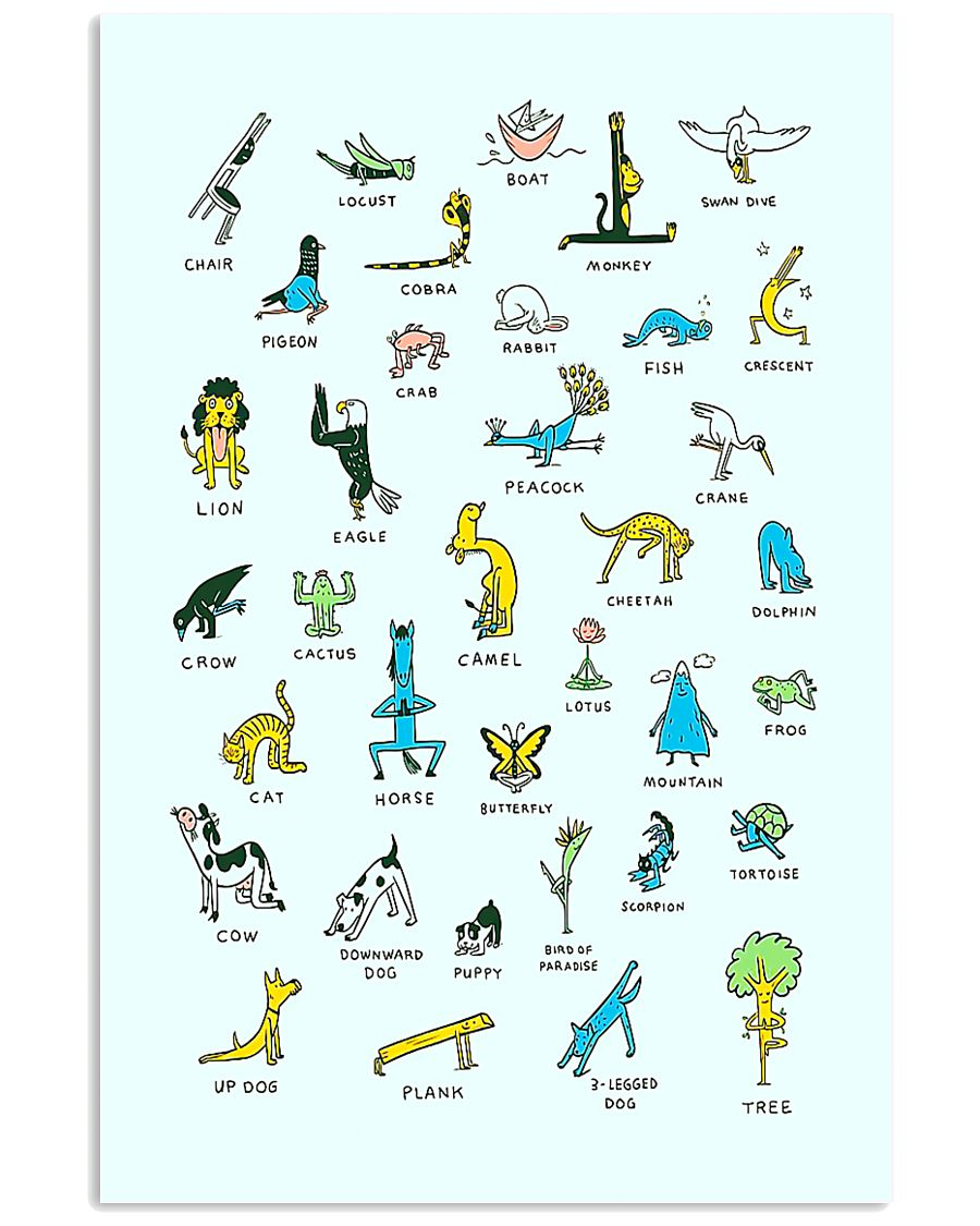 YOGA FOR LIFE - LIMITED EDITION 16x24 Poster