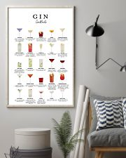 GIN - COCKTAIL GUIDE 16x24 Poster lifestyle-poster-1